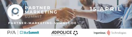 Partner Marketing Summit Email Banner