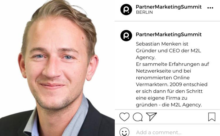 Sebastian Menken: Gründer und CEO der M2L Agency